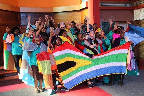 Flamingo Horticulture SA Participating in '67 Blankets' as part of Mandela Day