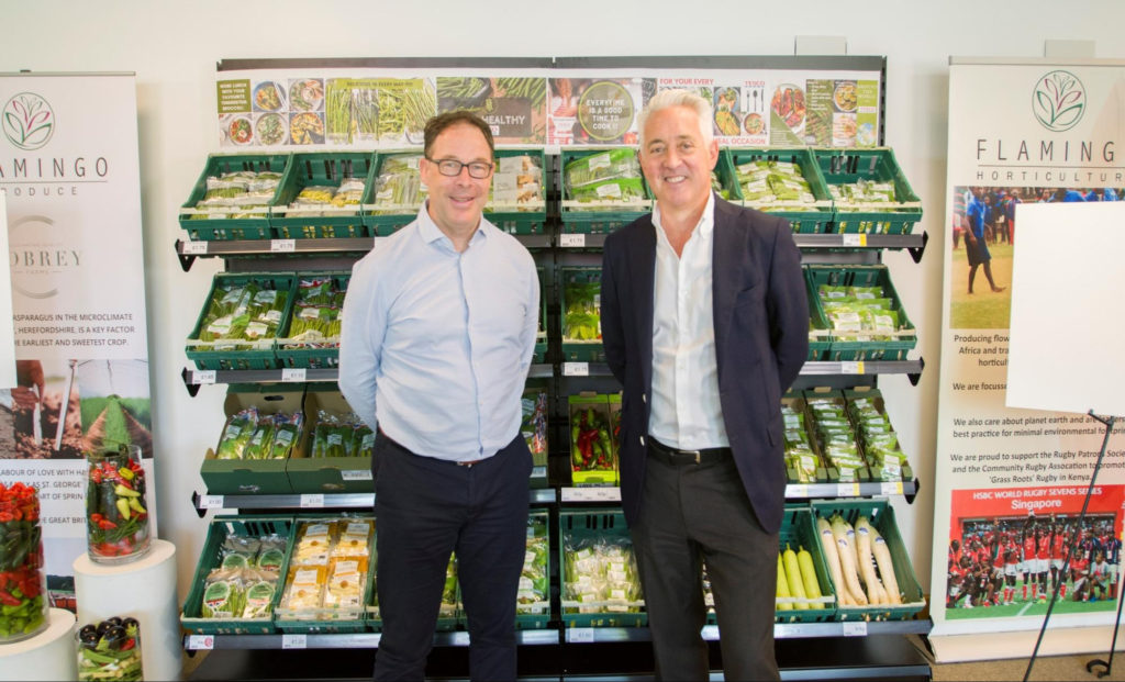 Flamingo Watch…Ken Murphy, Tesco Group CEO visits Flamingo